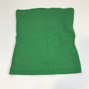 Zara Basic Women Green Tube Top M